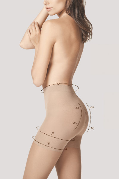 Fiore Medica Total-Slim 20 Tights Support Shapewear / Strumpbyxor.com