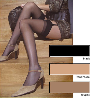Cette Cristal Stockings  / Strumpbyxor.com