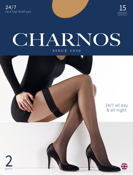 Charnos 24/7 stay-up 2 pair pack! Stay-ups  / Strumpbyxor.com