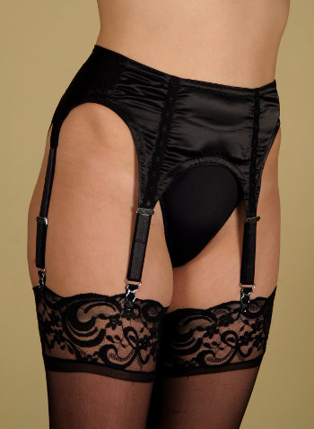 Axfords 4 narrow strap Suspenderbelt Suspender belts Bridal / Strumpbyxor.com