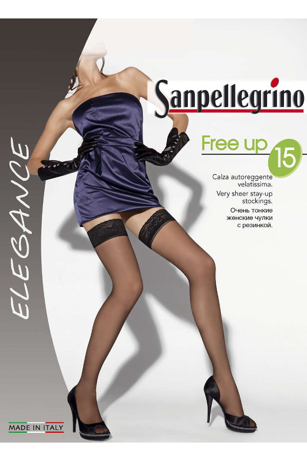 Sanpellegrino Free Up 15 Stay-ups Special Offer / Strumpbyxor.com