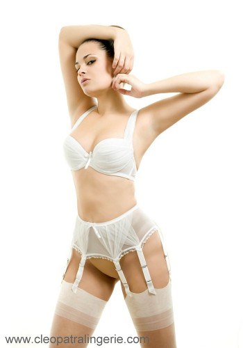 Cleopatra Hawaii Suspender belt Suspender belts Bridal / Strumpbyxor.com