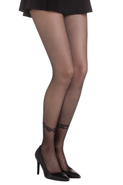 DIM Effet Soquette Tights Fashion ranges / Strumpbyxor.com