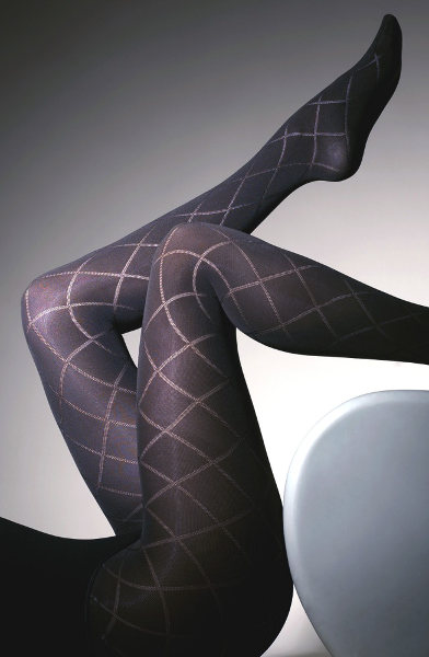 Gipsy Large Diamond Tights  / Strumpbyxor.com