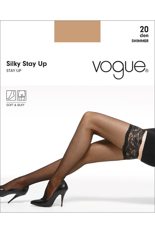 Vogue Silky stay-up Stay-ups  / Strumpbyxor.com