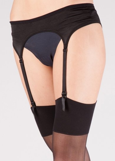 Silky Satin Suspender belt Suspender belts  / Strumpbyxor.com