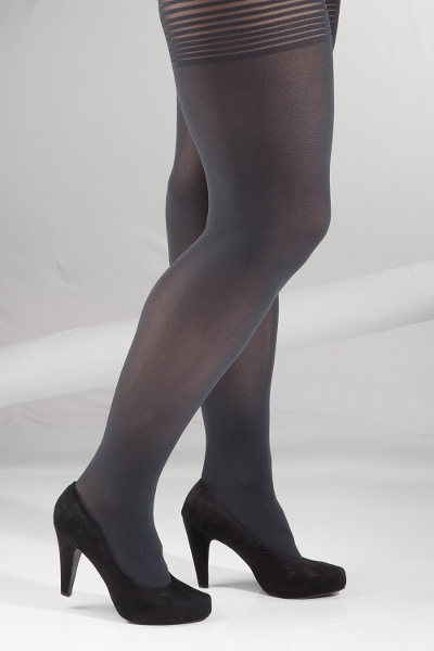 Vogue Plus size 3D Tights X-Large / Strumpbyxor.com