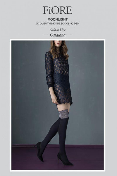 Fiore Moonlight Over-knee Winter ranges / Strumpbyxor.com