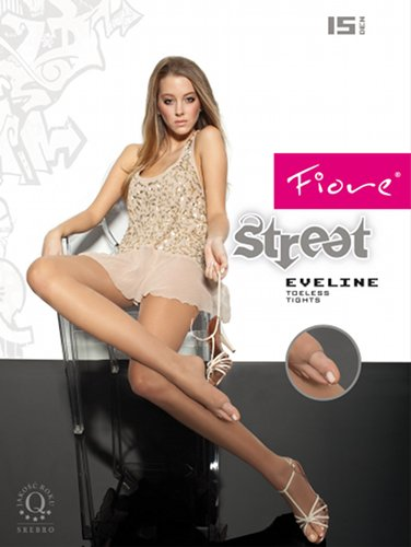 Fiore Eveline Tights with open toe Tights Summer ranges / Strumpbyxor.com