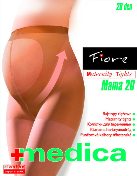 Fiore Mama 20 Tights Support Maternity / Strumpbyxor.com