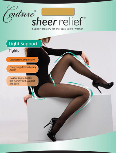 Couture Sheer Relief Light Support Tights Special Offer Support / Strumpbyxor.com