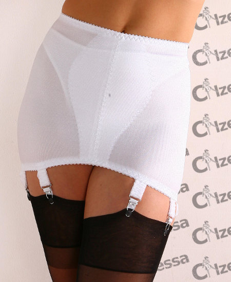 NylonDreams Girdle Dreams 8 Strap Suspender belts  / Strumpbyxor.com