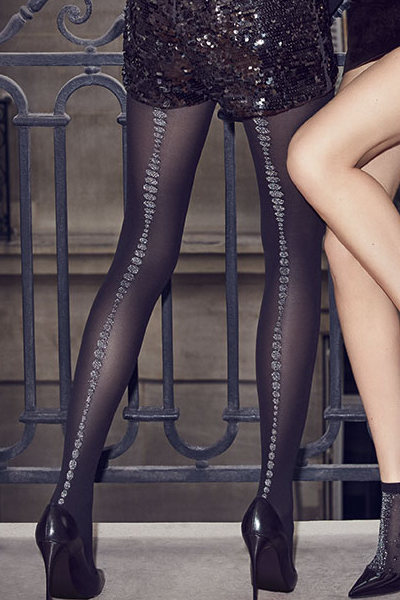 DIM Pois Couture Tights Special Offer Fashion ranges Seamed / Strumpbyxor.com