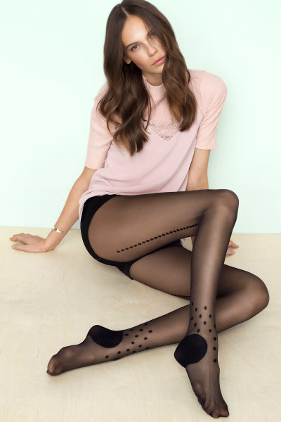 Fiore Tricky Tights Fashion ranges Seamed / Strumpbyxor.com