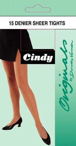 Cindy Sheer Tights Tights X-Large / Strumpbyxor.com