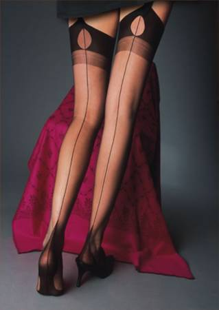Cervin Tentation (FF) Stockings Seamed Fully fashioned X-Large / Strumpbyxor.com