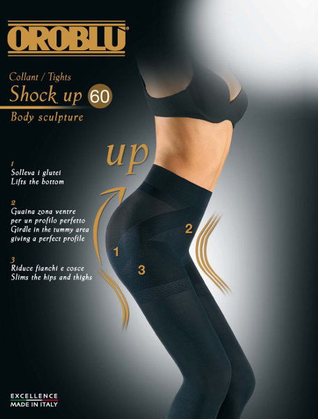 Oroblu Shock up 60 Tights Winter ranges Shapewear / Strumpbyxor.com