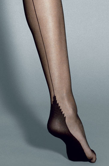 Veneziana Calze Roberta Stockings Seamed Summer ranges / Strumpbyxor.com
