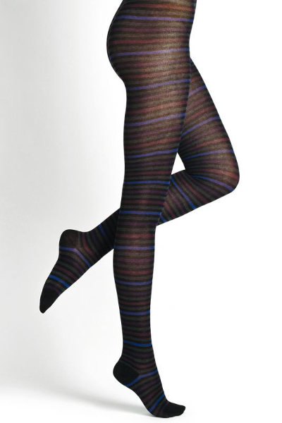 Bleuforet Striped Pure Cotton Tights Special Offer Winter ranges / Strumpbyxor.com