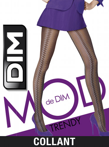 DIM Zig Zag Tights Special Offer Fashion ranges / Strumpbyxor.com