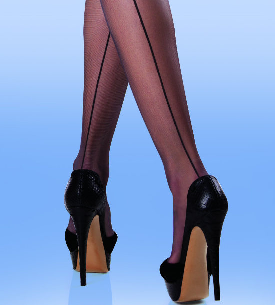 Silky Smooth knit seamer Stockings Seamed / Strumpbyxor.com