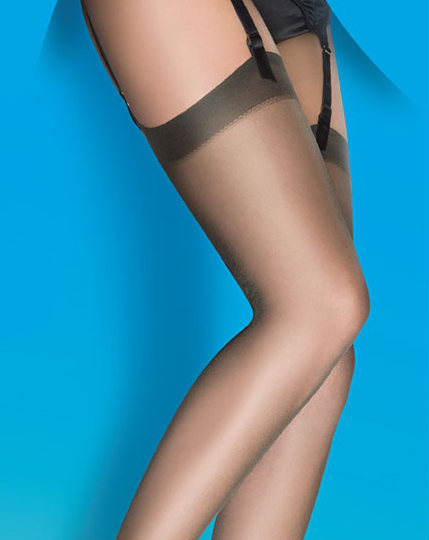 Pretty Polly Soft Shine 15D Stockings  / Strumpbyxor.com