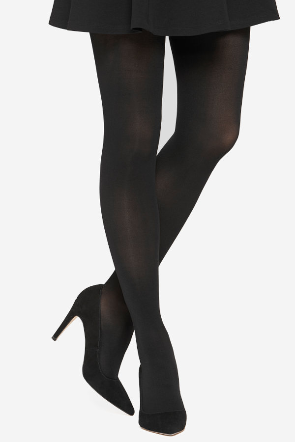 Vogue Opaque 60 - 2 pair pack Tights Winter ranges X-Large / Strumpbyxor.com