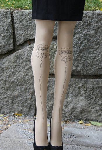 Tattoo Legs Mind game Tights Special Offer Fashion ranges / Strumpbyxor.com