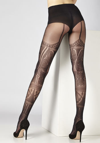 Cecilia de Rafael Besalu Tights Fashion ranges / Strumpbyxor.com