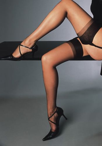 Cervin Champs Elysees silk stockings Stockings Bridal Silk / Strumpbyxor.com