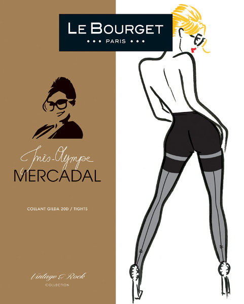 Le Bourget Mercadal Gilda Tights Special Offer Seamed / Strumpbyxor.com