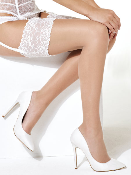 Charnos 10 denier Bridal stockings Stockings Bridal / Strumpbyxor.com