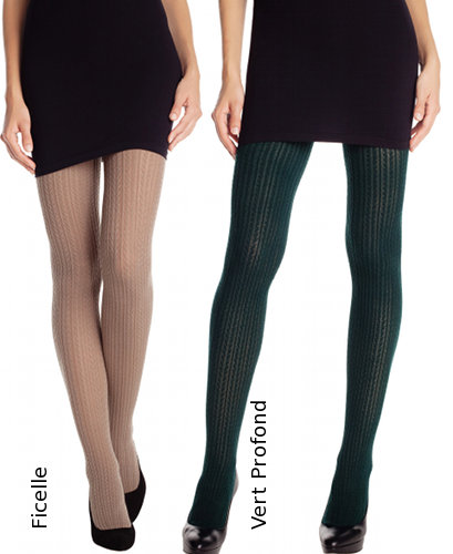 DIM Casual Maille Tights Winter ranges / Strumpbyxor.com