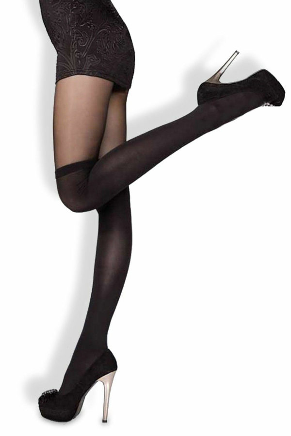 Fiore Miguela Mock overknee tights Tights Fashion ranges / Strumpbyxor.com