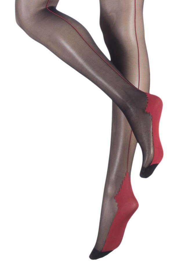 Oroblu Riga Tights Seamed / Strumpbyxor.com