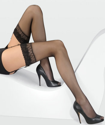 Gerbe Sunlight 15 Stockings Bridal / Strumpbyxor.com