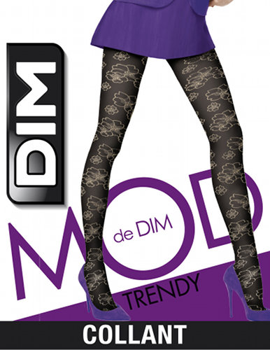 DIM Broderie Japonisantes Tights Special Offer Fashion ranges / Strumpbyxor.com