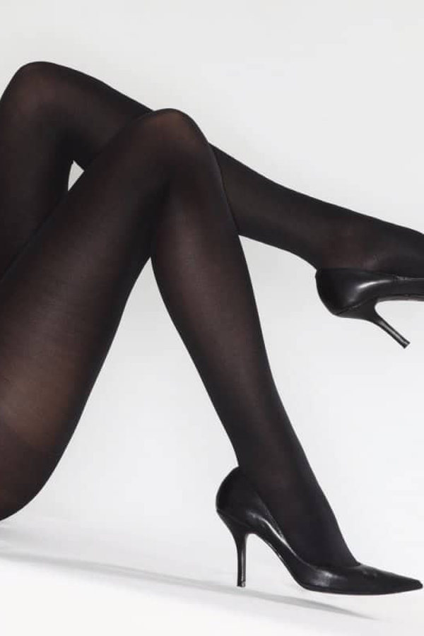 sheer to waist semi-shiny Oroblu Satin 60 3 pack tights tridimensional